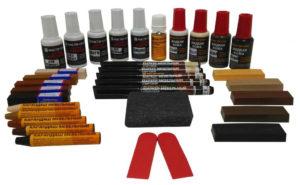 Инструменты и реставрационный материал для мебели